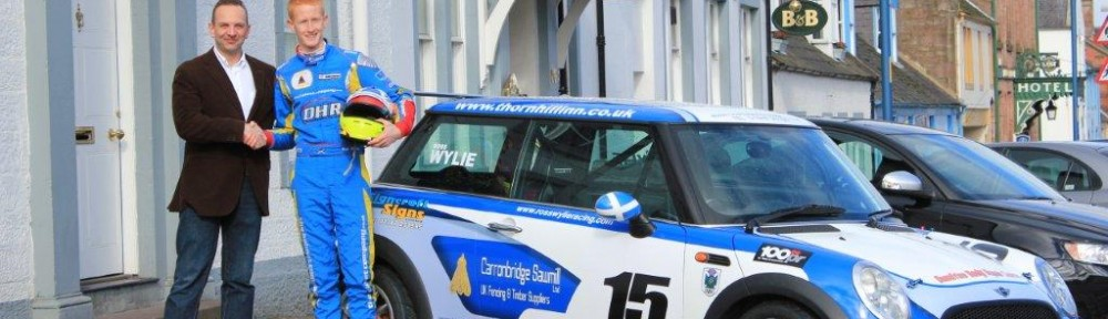 2012 Mini Colours for Ross Wylie in Celtic Speed