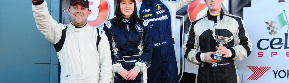 ross wins final round of mini cooper cup knockhill