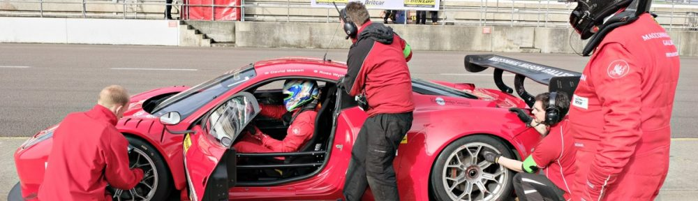 ON-FORM WYLIE SCORES DOUBLE PODIUM IN OPENING BRITCAR EVENT | Ross Wylie Racing